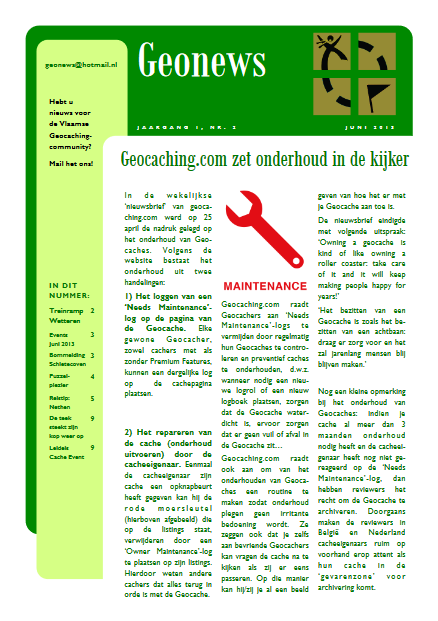 cover Geonews - juni 2013