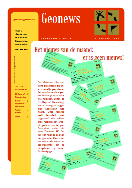 cover Geonews - augustus 2013