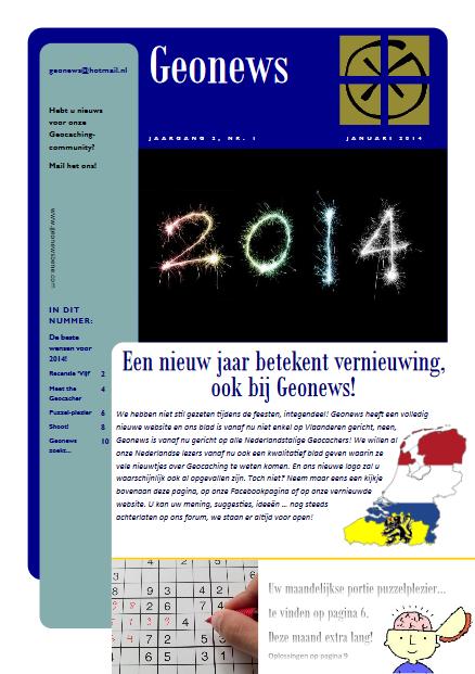 cover Geonews - januari 2014