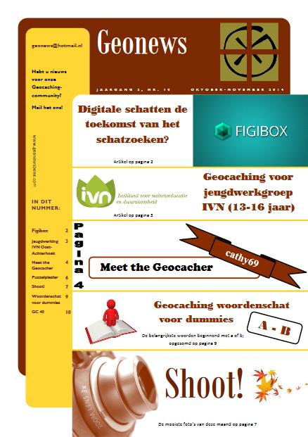 cover Geonews - oktober - november 2014