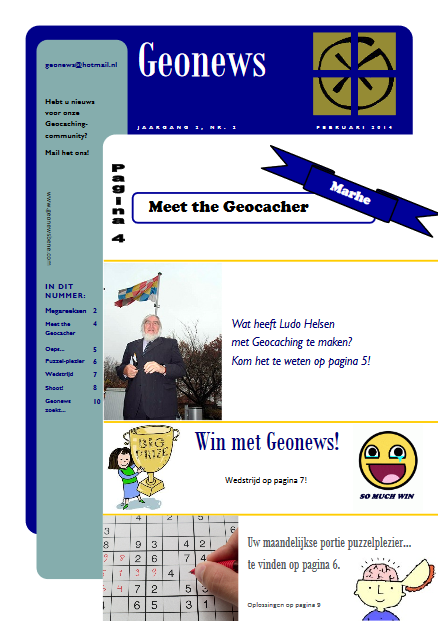 cover Geonews - februari 2014
