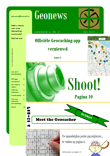 cover Geonews - mei 2014