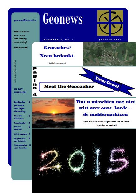 cover Geonews - januari 2015