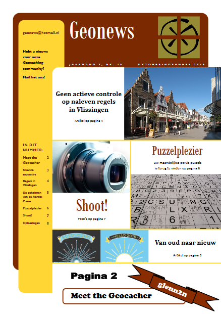 cover Geonews - oktober - november 2015