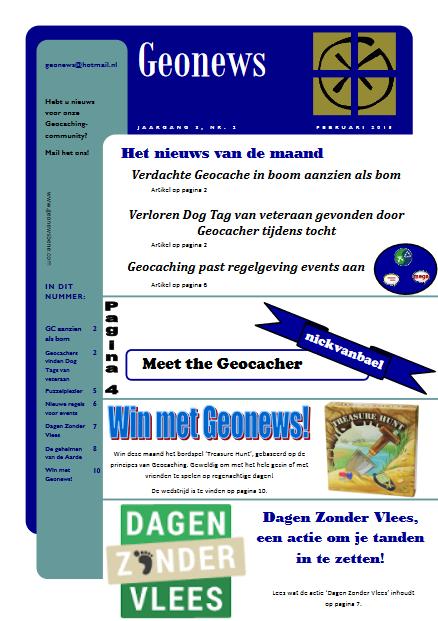 cover Geonews - februari 2015