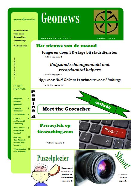 cover Geonews - maart 2015