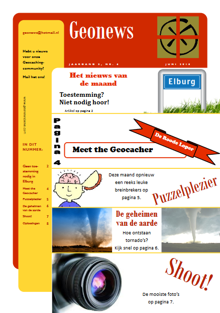 cover Geonews - juni 2015
