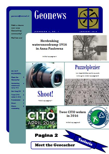 cover Geonews - januari 2016