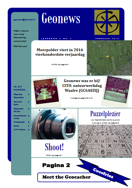 cover Geonews - februari 2016