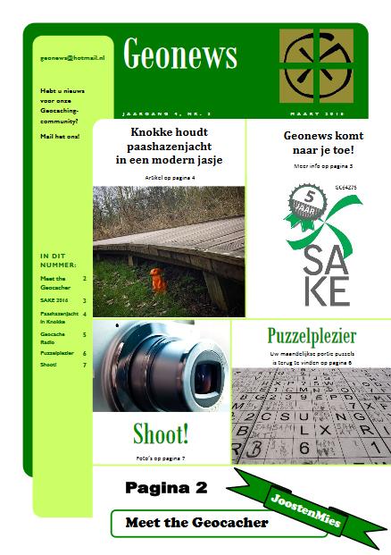 cover Geonews - maart 2016