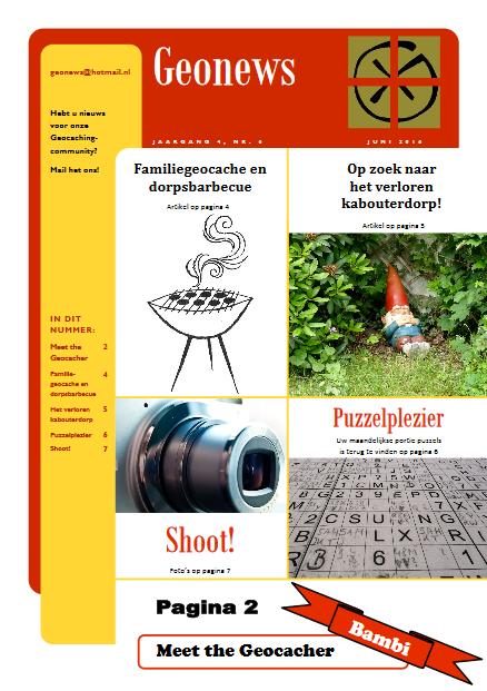 cover Geonews - juni 2016