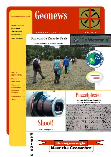 cover Geonews - juli 2016
