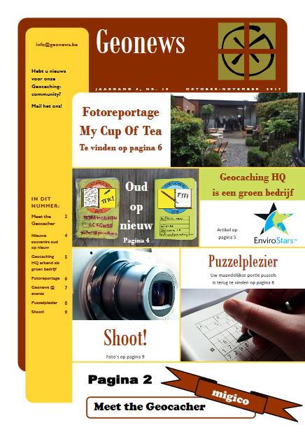 cover Geonews - oktober - november 2017