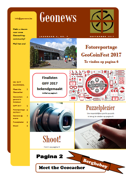 cover Geonews - september 2017