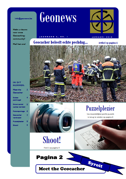 cover Geonews - januari 2018